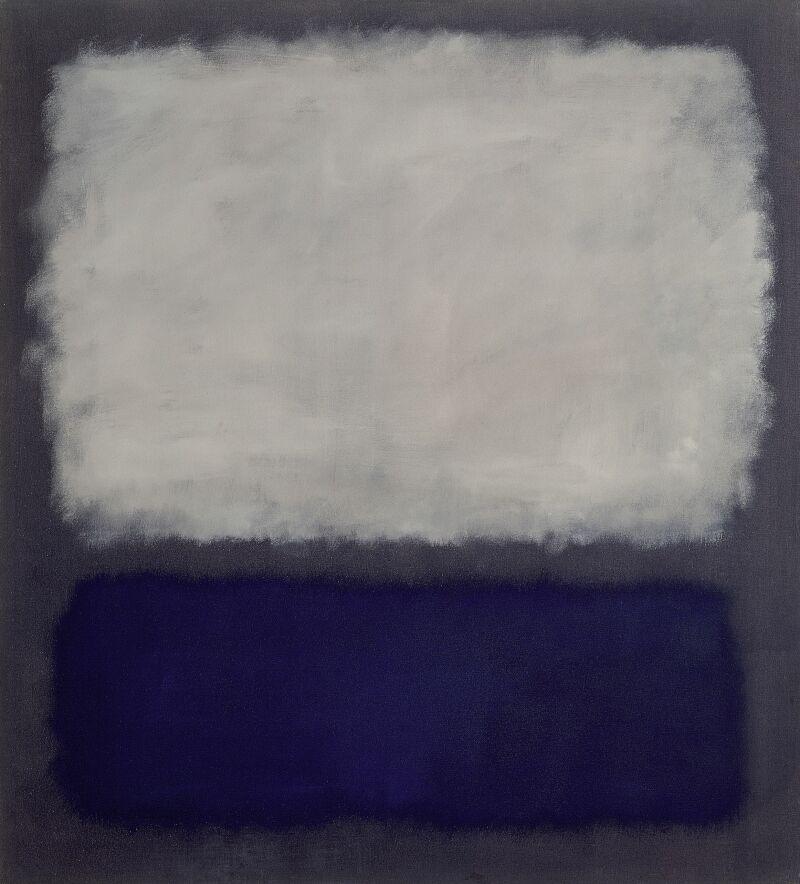04. Nympheas. Mark Rothko - Blue and gray,1962