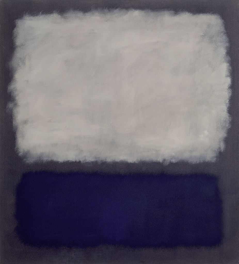 04. Nympheas. Mark Rothko - Blue and gray,1962