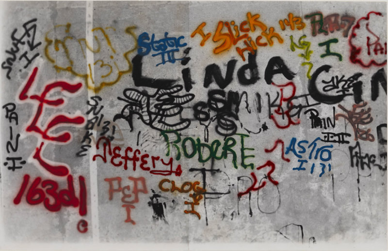 Gordon Matta-Clark, Graffiti Linda, 1973