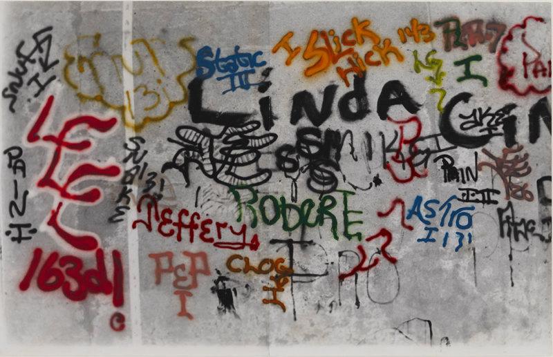 Gordon Matta-Clark, Graffiti Linda, 1973