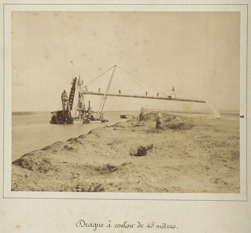 Hippolyte Arnoux, Drague à couloir de 45 mètres, seconde moitié du XIXe siècle