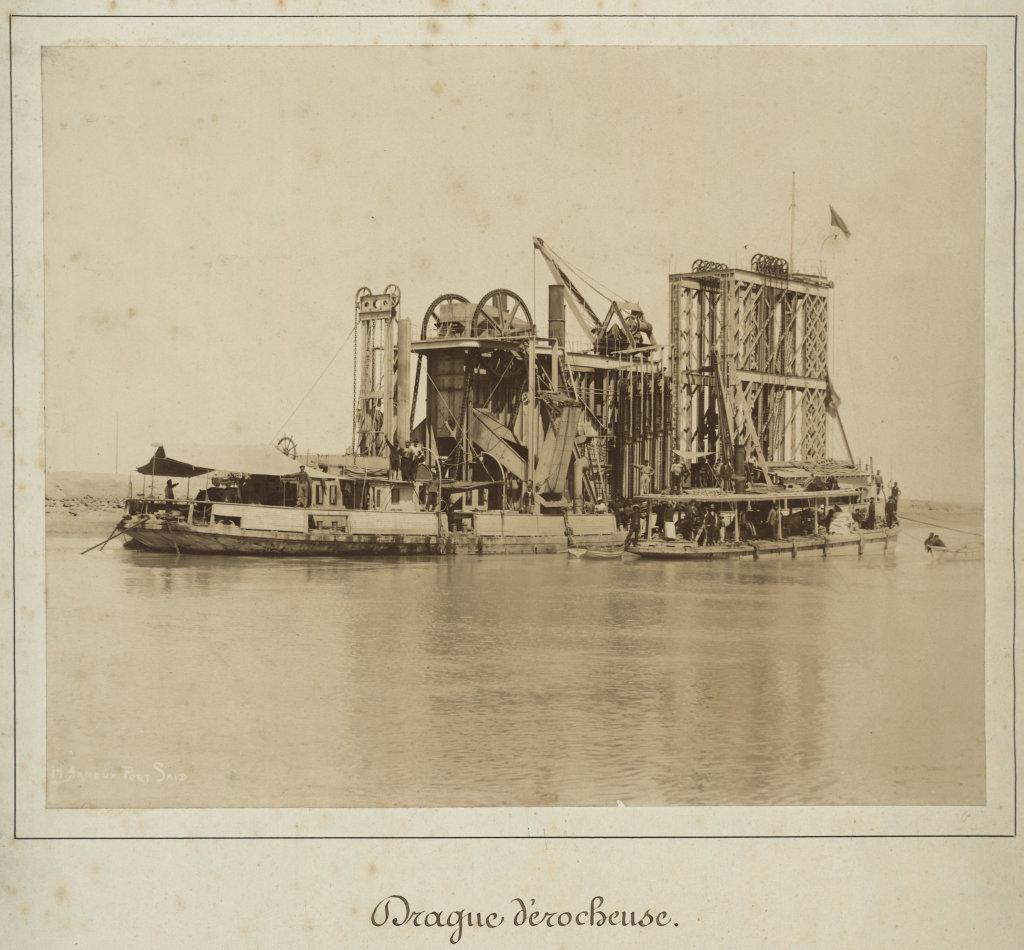 Hippolyte Arnoux, Drague décrocheuse, seconde moitié du XIXe siècle