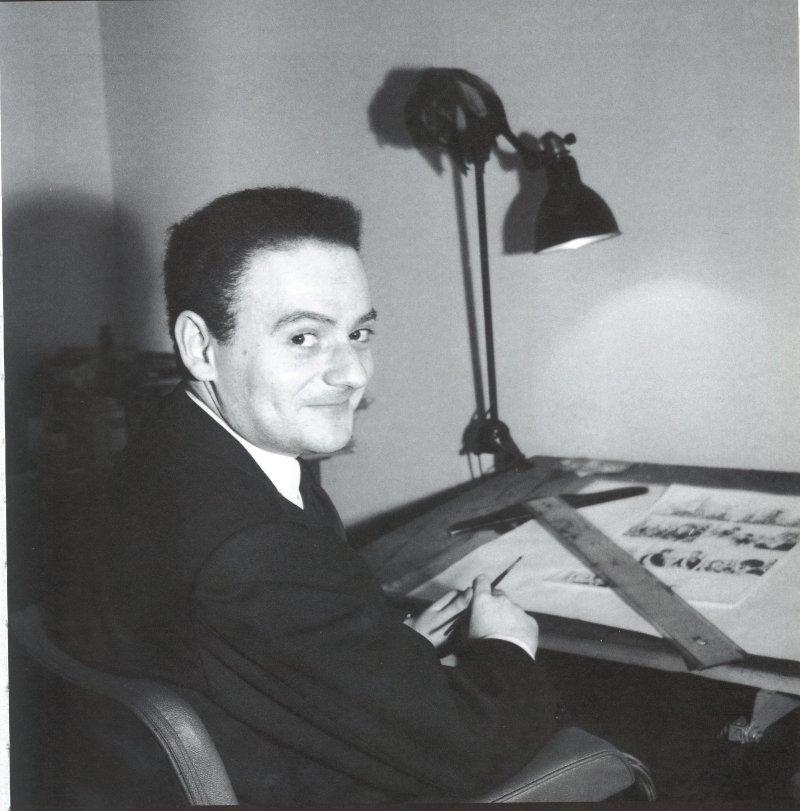 Portrait de Goscinny