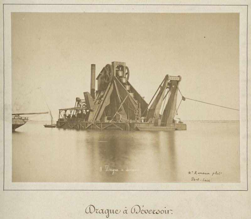 Hippolyte Arnoux, Drague à déversoir, seconde moitié du XIXe siècle