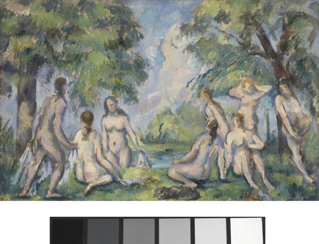 Paul Cézanne, Les Baigneuses, vers 1865