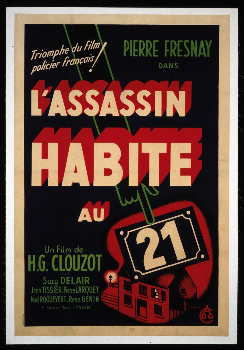 Affiche de L'Assassin habite au 21, 1945
