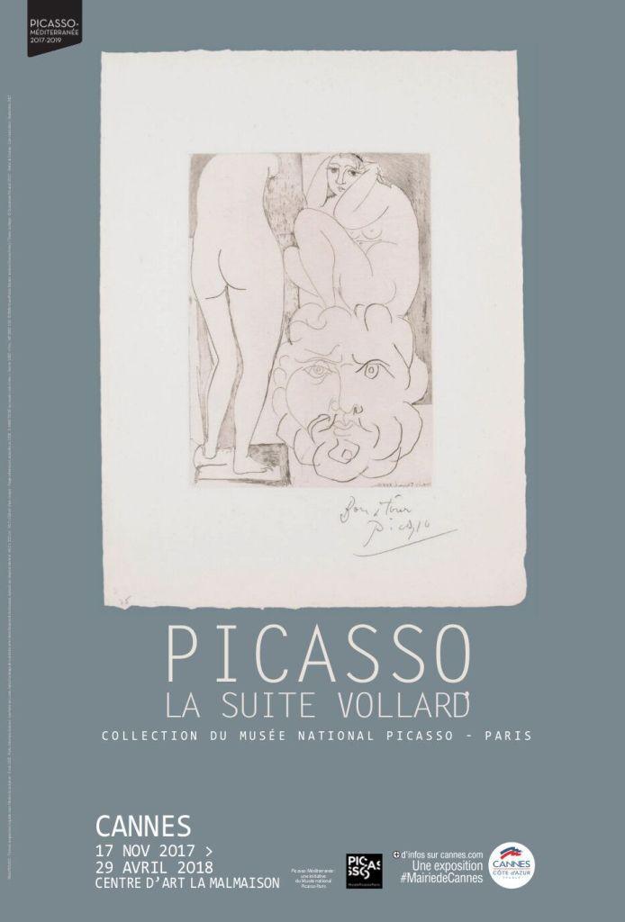 Affiche de l'exposition - Picasso, la suite Vollard