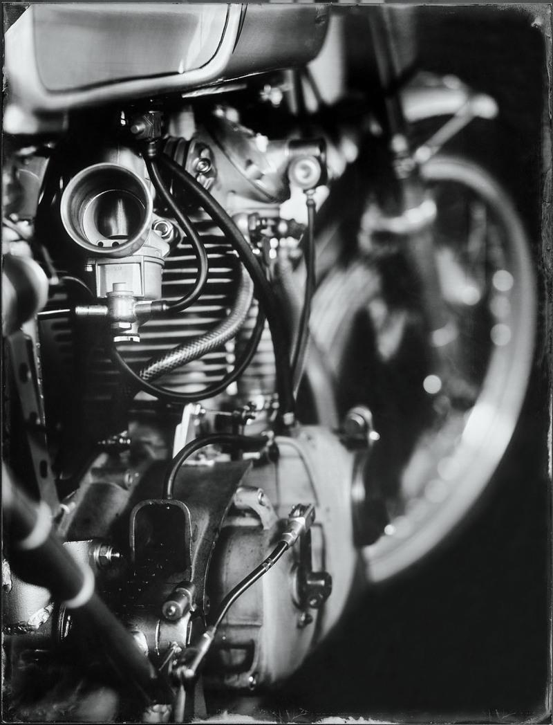 Bernard Testemale - série Mecanics- 2017 - WPB-ducati-carbu-