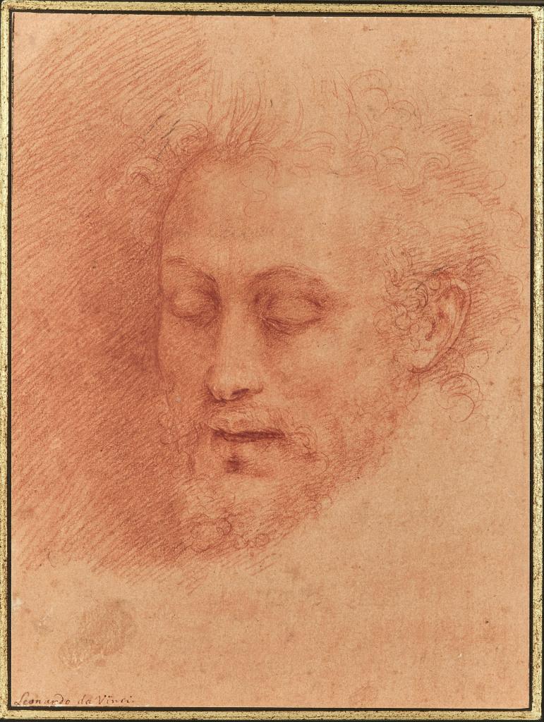 Cesare da Sesto (1477-1523), Tête de Saint Jean-Baptiste