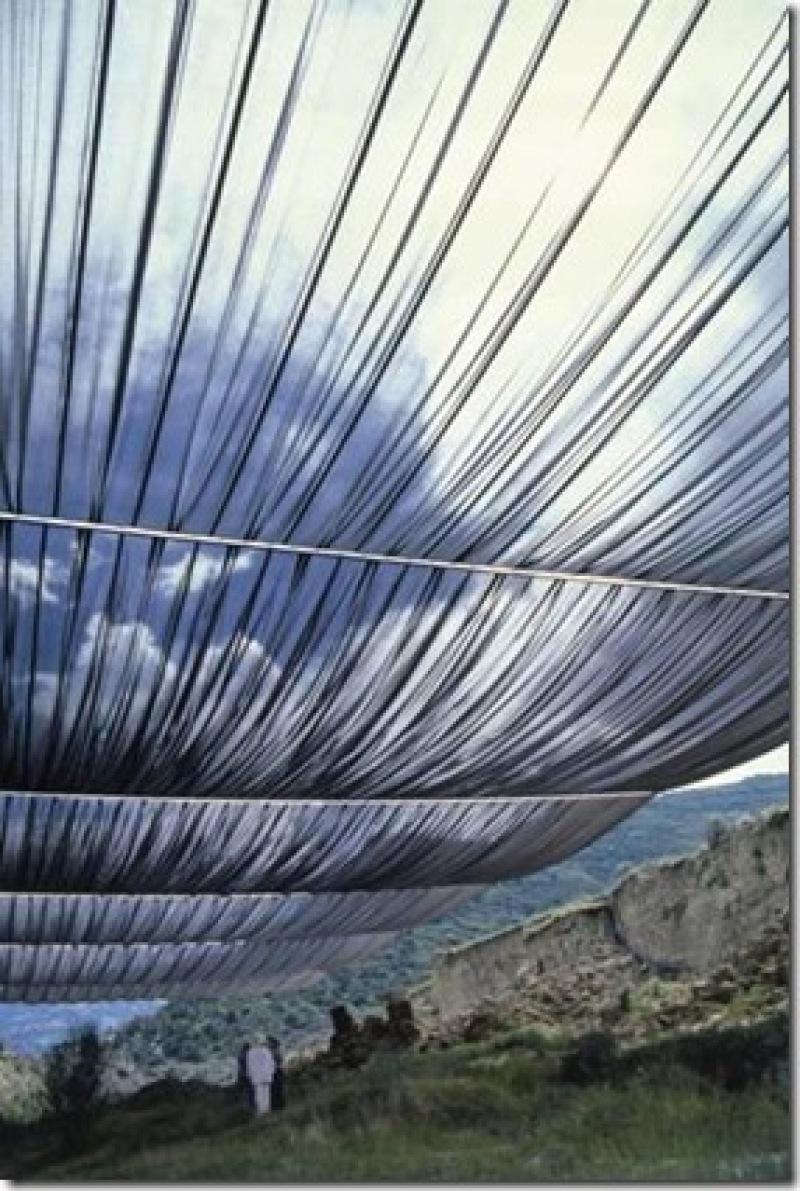 Christo et Jeanne-Claude, la rivière de Arkansas