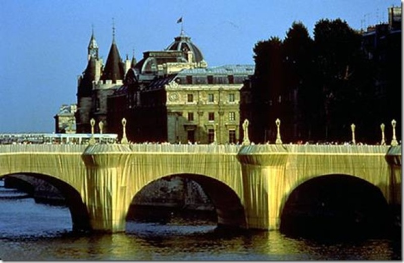 Christo, Pont Neuf emballé en 1985