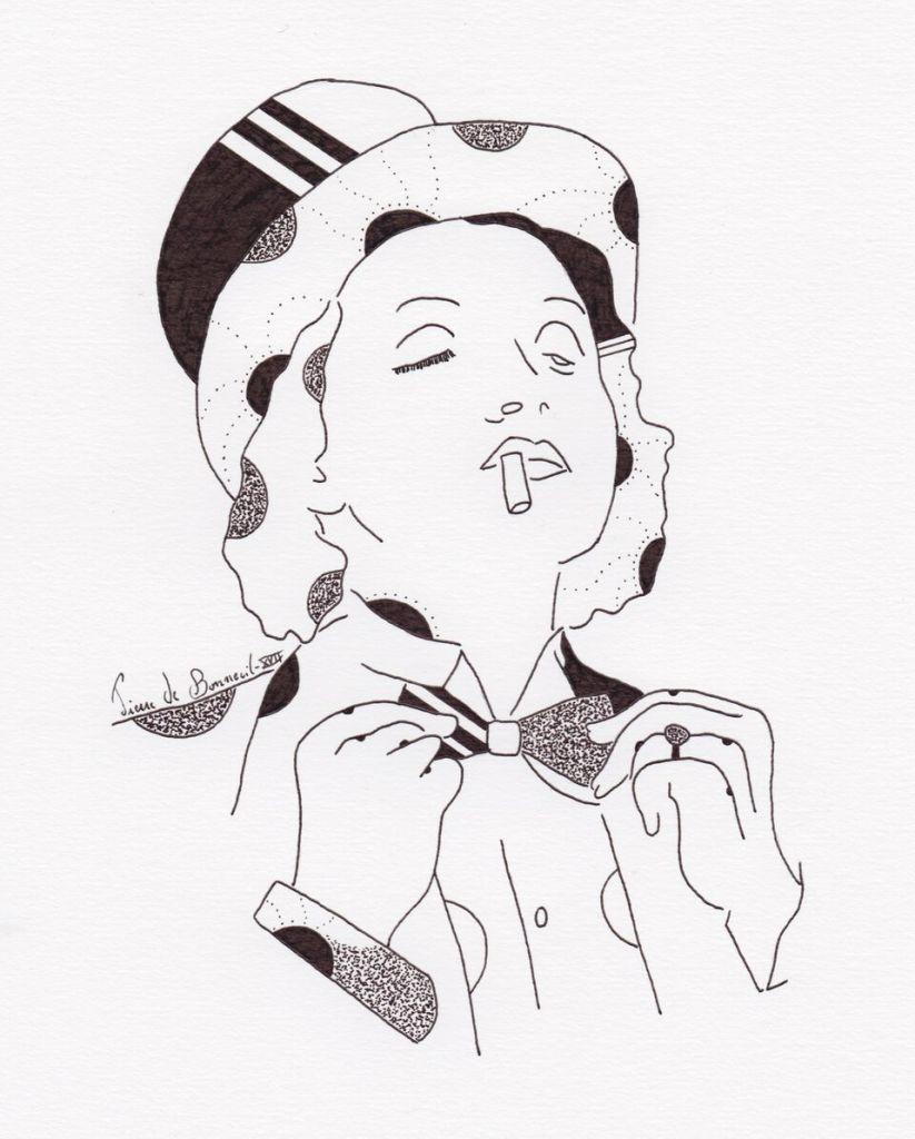 Pierre de Bonneuil Marlene Dietrich
