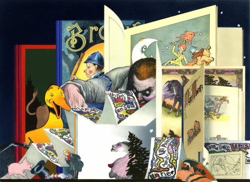Expoosition Béatrice Poncelet au Musée de l'Illustration à Mougins (10)
