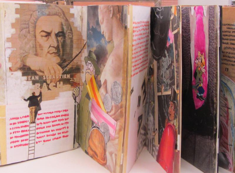 Expoosition Béatrice Poncelet au Musée de l'Illustration à Mougins (7)