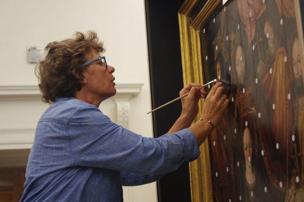 Exposition Dans le Secret des oeuvres d'art au Musée Fabre de Montpellier