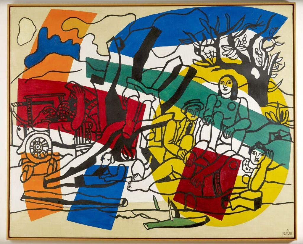Fernand Léger, La partie de campagne, 1954