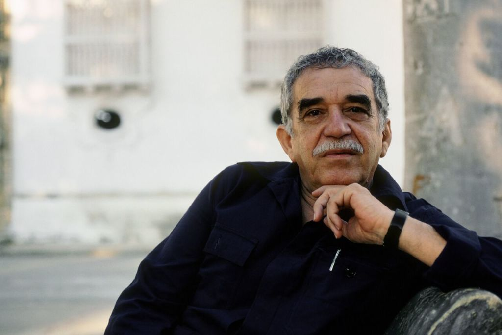 Gabriel Garcia Marquez, Carthagène, Colombie, 1991, photo Ulf Andersen, collection Hulton Archive, Getty Images