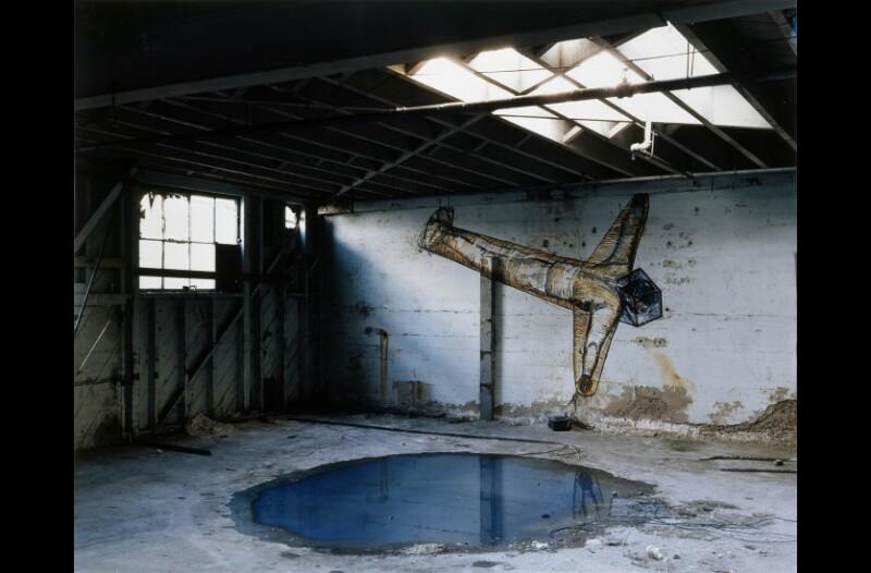 Georges Rousse, La Jolla, 1984 © Georges Rousse, ADAGP, 2018. Collection Maison Européenne de la Photographie, Paris.