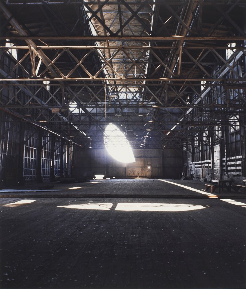 Gordon Matta-Clark, Day's End (Pier 52), 1975