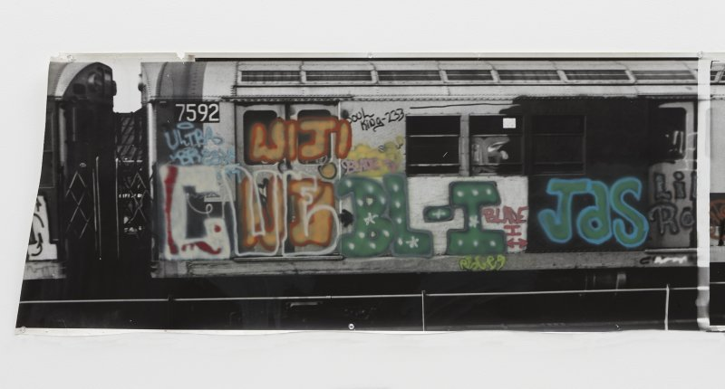 Gordon Matta-Clark, Graffiti, 1975