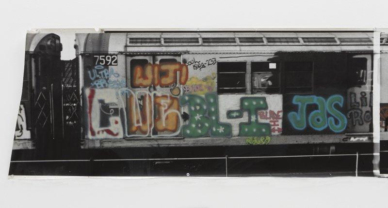 Gordon Matta-Clark, Graffiti, 1975