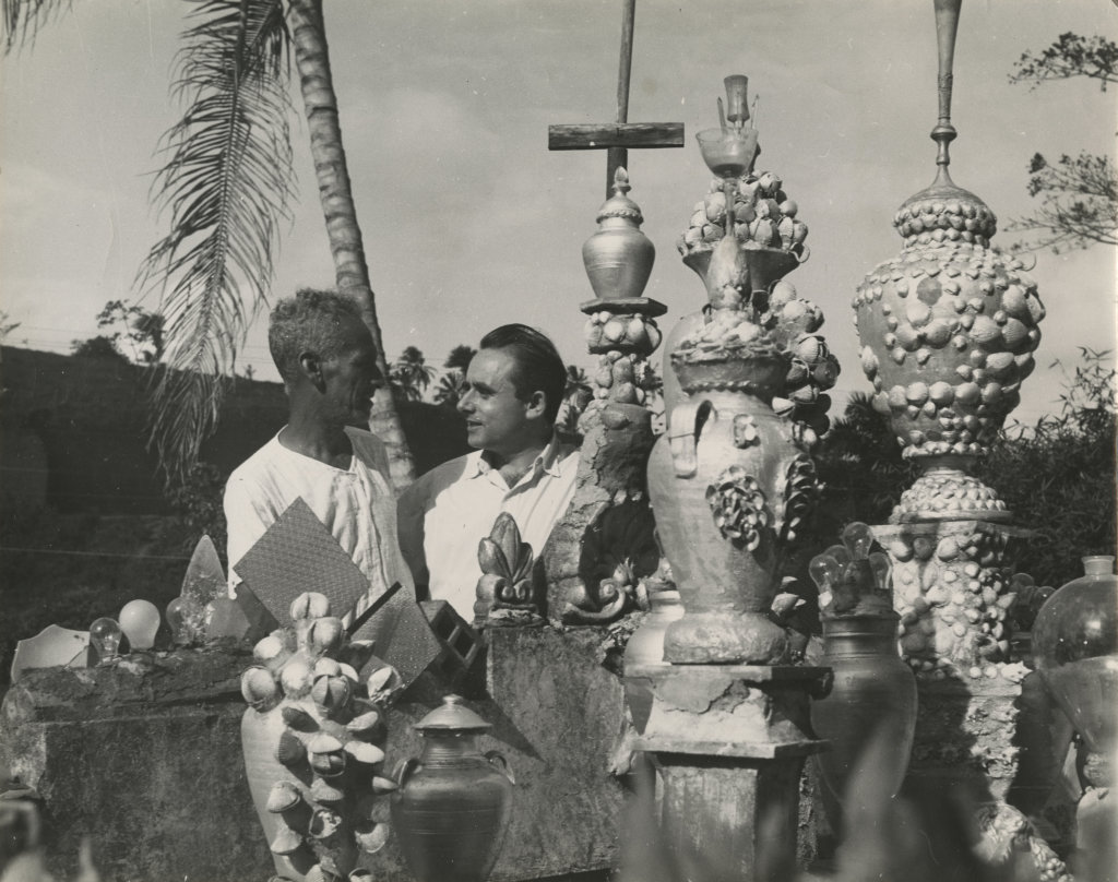Henri-Georges CLOUZOT-Voyage au Brésil-Projet de documentaire-Illustration de l'ouvrage Le cheval des dieux