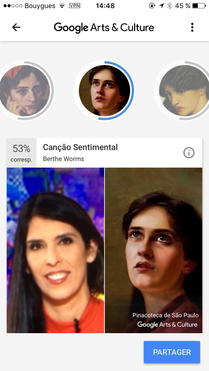 On a testé l'appli Google portraits museum