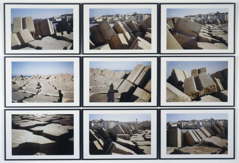 Kader_Attia, rochers carrés, 2008