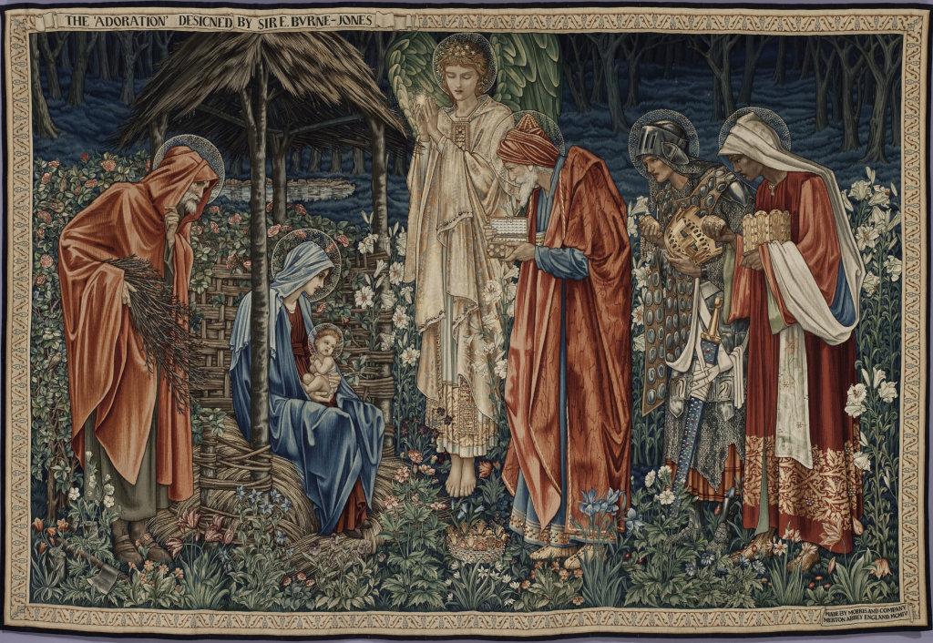Burne-Jones Edward Coley, Adoration des Mages