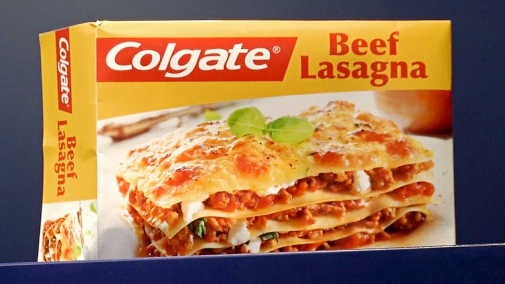 Lasagnes Colgate