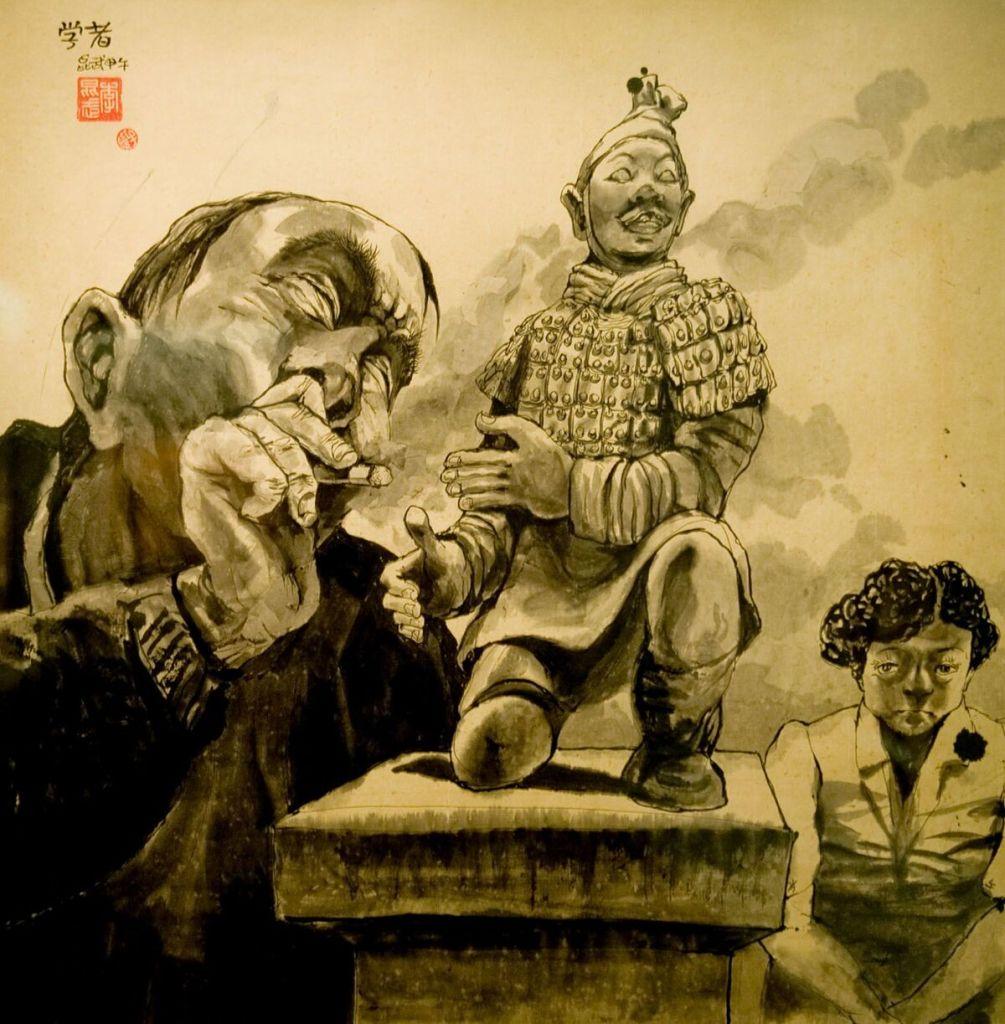 Li Kunwu, Le lettré, 2013