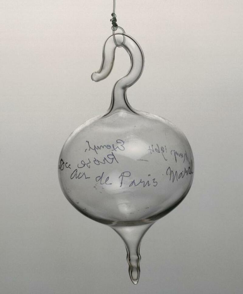 Marcel Duchamp, Ampoule d'air parisien, 1919