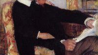 Mary Cassatt, Portrait d'Alexander Cassat et son fils