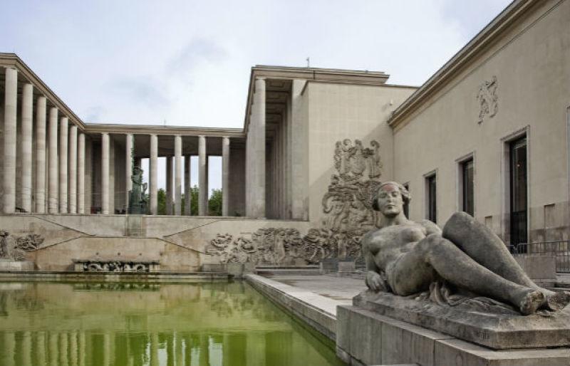 Musée d'Art moderne de la Ville de Paris extérieur ©OTCP Amélie Dupont.