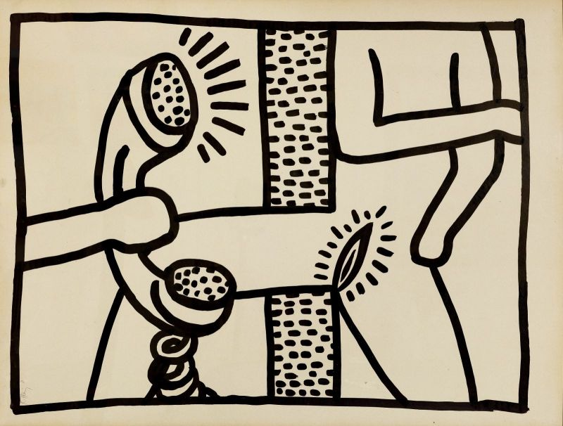 Keith Haring, sans-titre, 1981