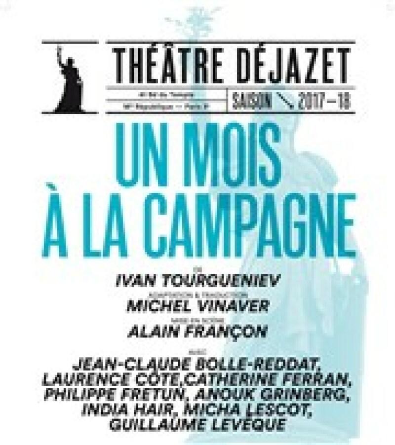 Un mois à la campagne - Théâtre Déjazet