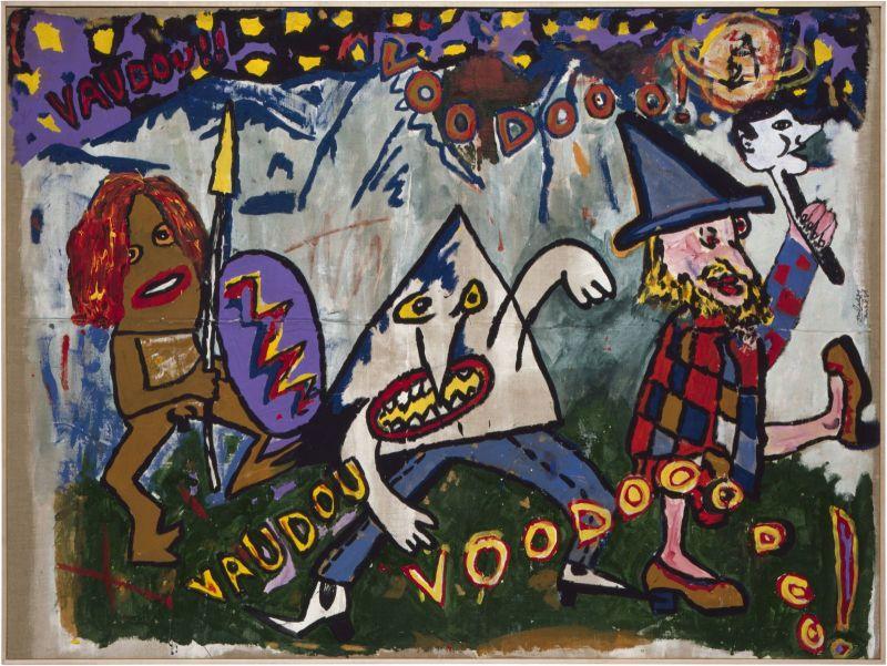 Robert Combas, Vaudou Voudou,1981