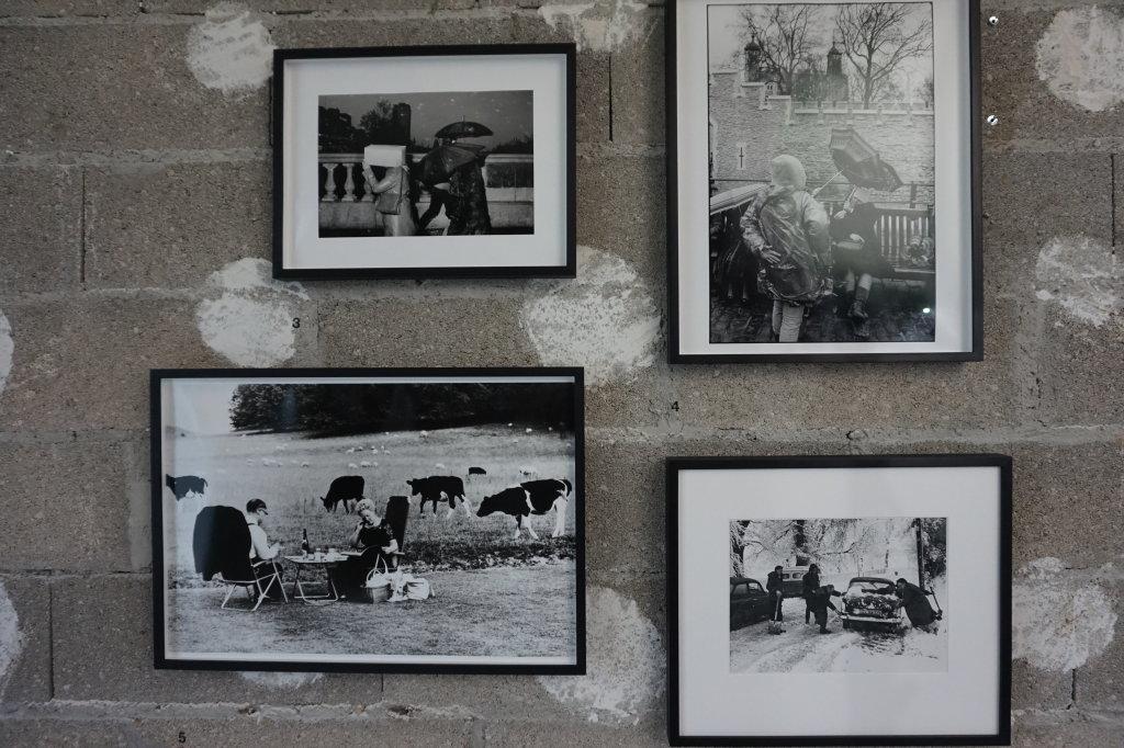 Vue de l'exposition Burberry à Paris