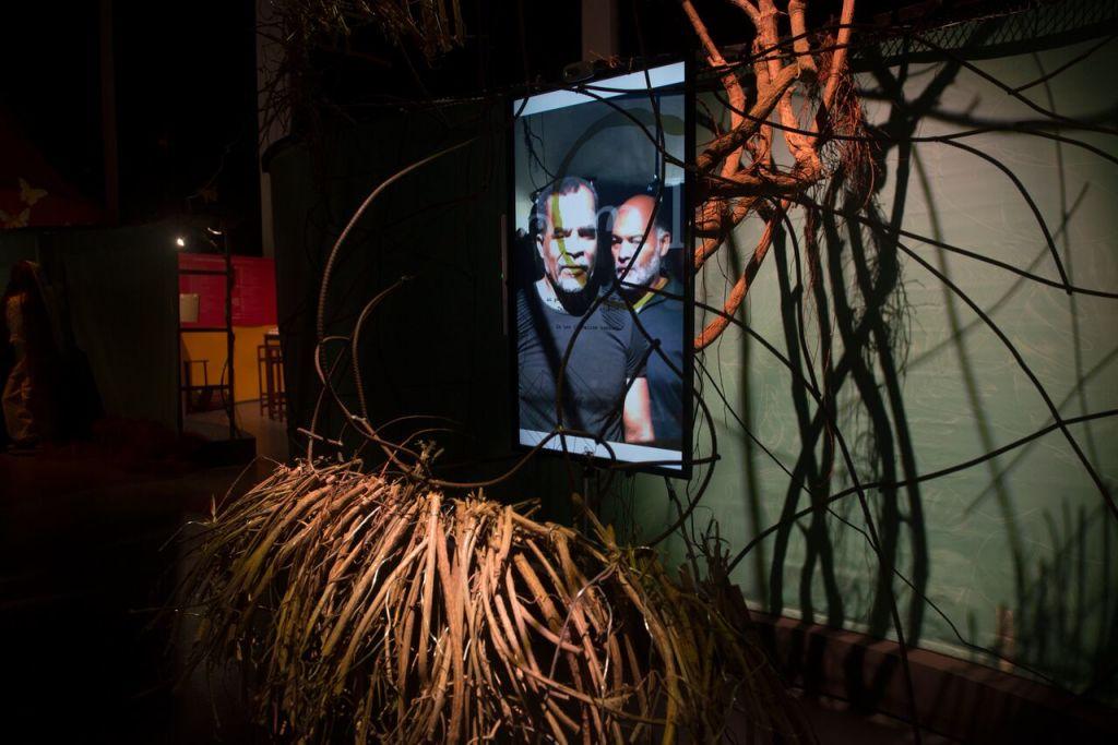 Vue de l'exposition La Caraïbe, Solitudes et relation - Mémorial ACTe, Guadeloupe