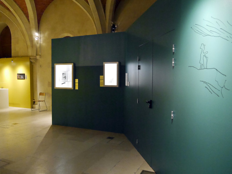 Vue de l'exposition Ludovic-Napoléon Lepic, peintre et archéologue sous Napoléon III - Musée d'Archéologie Nationale (13)