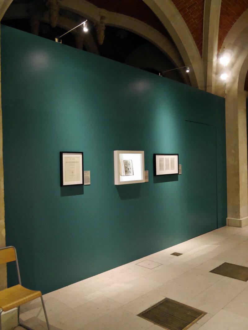 Vue de l'exposition Ludovic-Napoléon Lepic, peintre et archéologue sous Napoléon III - Musée d'Archéologie Nationale (15)