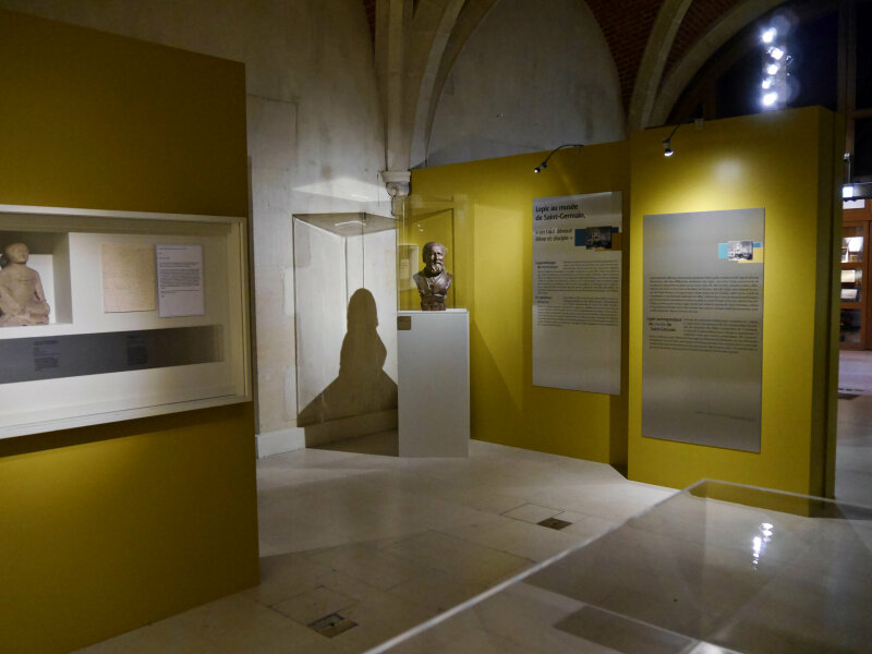 Vue de l'exposition Ludovic-Napoléon Lepic, peintre et archéologue sous Napoléon III - Musée d'Archéologie Nationale (7)