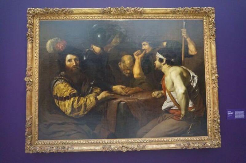Vue de l'exposition Nicolas Régnier au Musée d'Art de Nantes