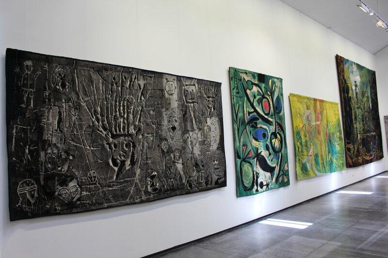 Vue de l'exposition Yvette Caquil-Prince - Musée du Pays de Sarrebourg