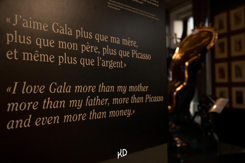 Vue de l'exposition Dali à la Rosière d'Artois de Nantes © Rosière d'Artois, tous droits réservés.