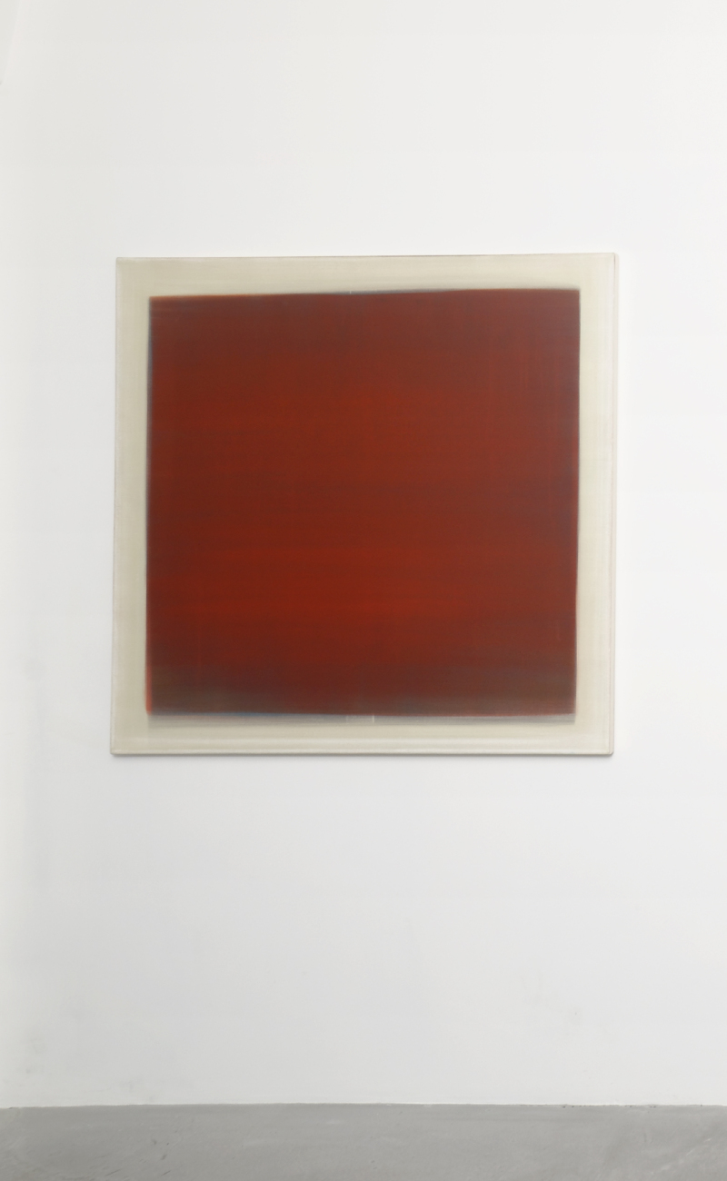 Hugo Schüwer Boss, Favicon, 2015, acrylique sur toile, 120 x 120 cm