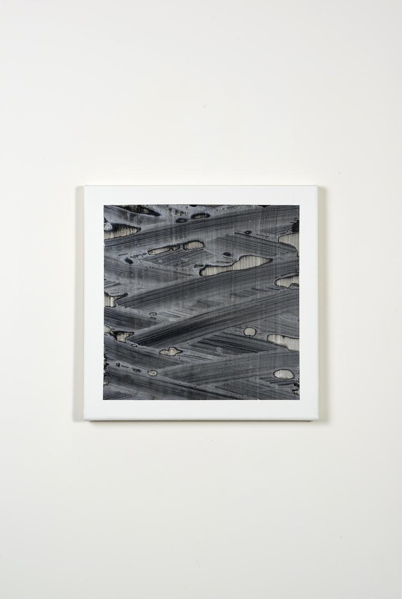 Hugo Schüwer Boss, Siberian Kiss, 2016, acrylique et vernis sur toile, 50 x 50 cm, collection privée