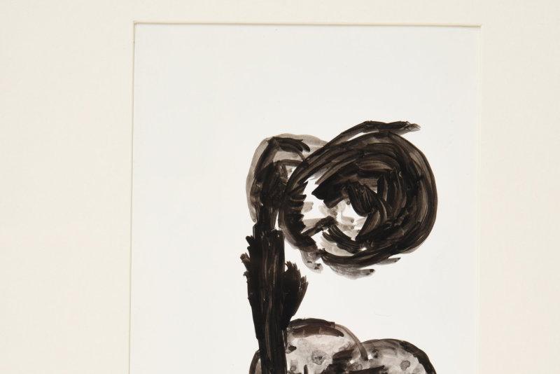 Simone Boisecq, sans titre, série des silhouettes, 1980-1985