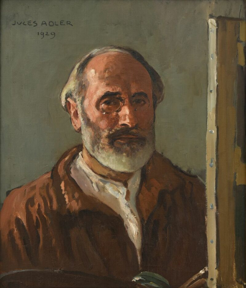 Jules Adler, Autoportrait