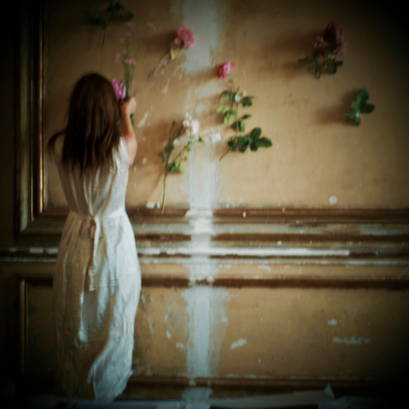 Carolyn Quartermaine Pinning roses